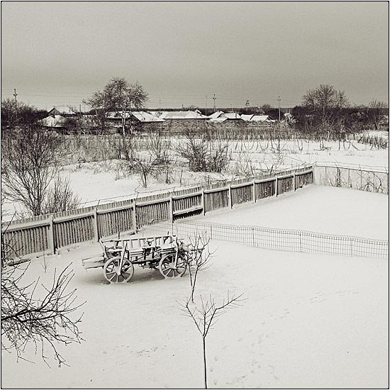 iarna de la balcon