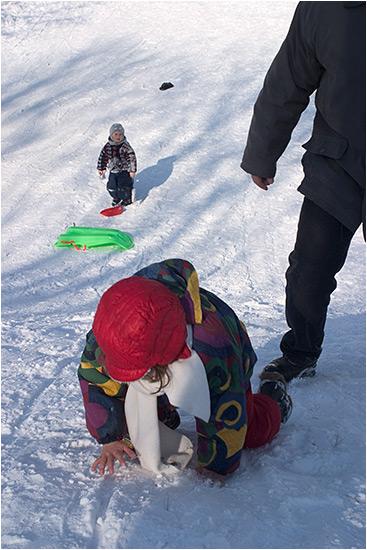 iarna-n copii