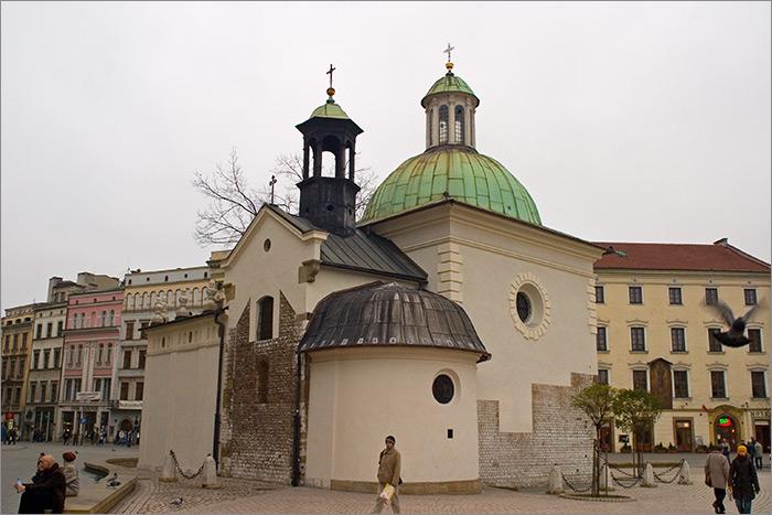 biserica St. Adalbert cu plafon