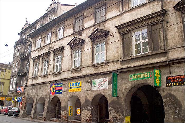 to Kazimierz Jewish quarter