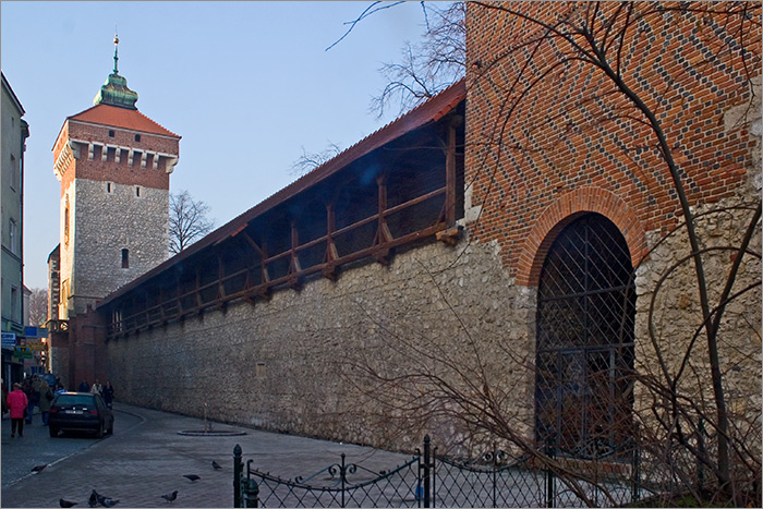 Florian's Gate and City Walls
