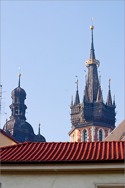 towers of St. Mary Cathedral