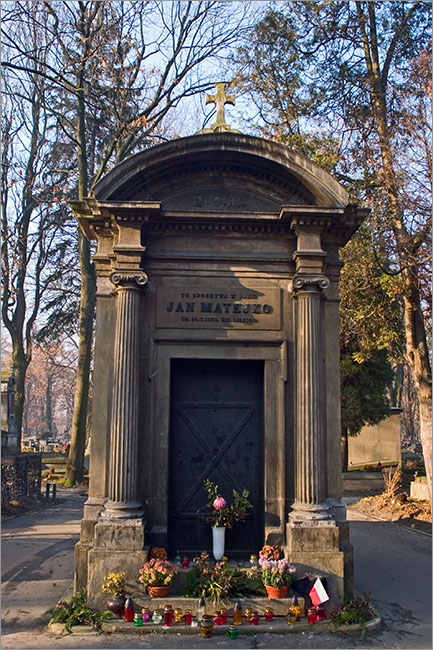 Jan Matejko's tomb