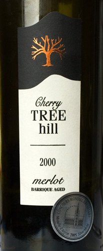 Merlot/Cherry Tree Hill - Dealu Mare/2000